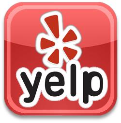 3D Yelp Logo