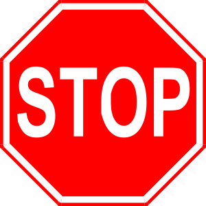 Sign Violations