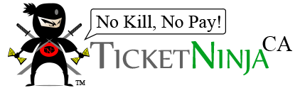Fight California Traffic Ticket with Ticket Ninja! Logo